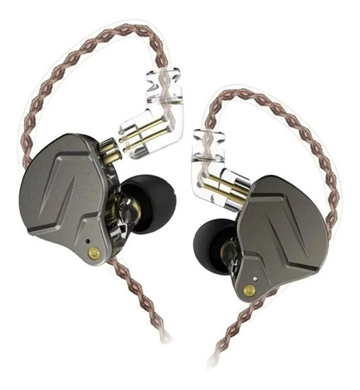 Fone De Ouvido Intra Auricular Kz Zsn Pro Sem Microfone