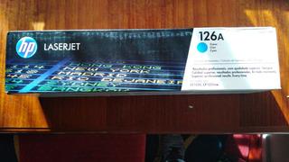 Cartridge De Toner Hp 126a Original Cyan