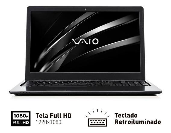 Notebook Vaio Fit 15s - Intel I5 8gb 256gb Ssd - Full Hd 15.