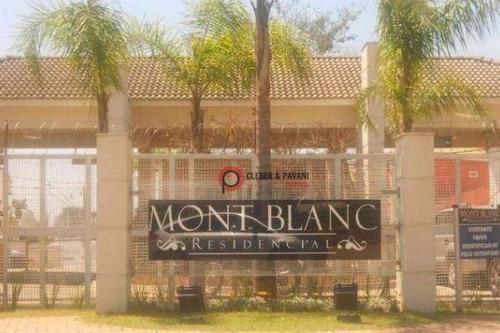 Terreno Residencial À Venda, Condomínio Mont Blanc, Sorocaba. - Te0173