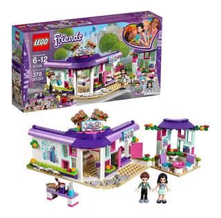 Lego Friends 41336 Cafe De Arte De Emma 378pzas Envio Gratis