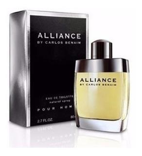Perfume Alliance Carlos Benaim Hombre 80ml Edt Envio Cuotas