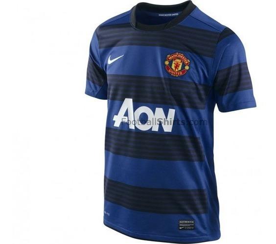 Camiseta De Manchester United Alterna Impecable Original