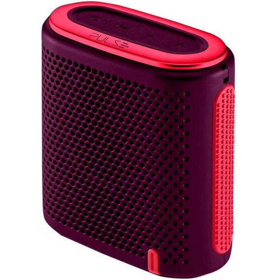 Caixa De Som Mini Bluetooth Roxa/rosa Sp239 Pulse