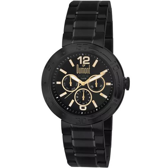 Relógio Dumont Masculino Du6p29abj/s4c , C/ Garantia E Nf