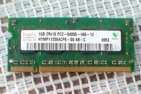 Memoria Ram 1gb Laptop Ddr2 2rx16 Pc2 6400