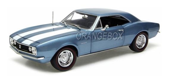 Camaro Z28 1967 Aniversário 50 Anos 1:18 Autoworld Amm1101