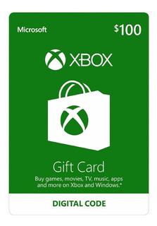 Tarjeta Xbox Argentina $100. Gift Card Xbox Live.promo
