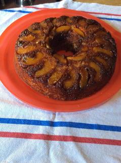 Torta De Manzana ( Invertida)