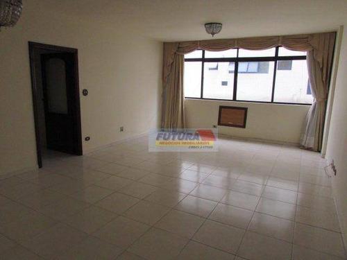 Imagem 1 de 30 de Apartamento Com 3 Dormitórios À Venda, 141 M² Por R$ 530.000,00 - Ponta Da Praia - Santos/sp - Ap2490