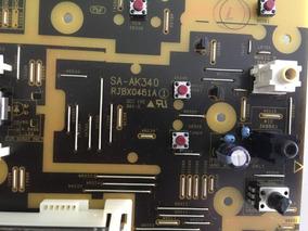 Placa Painel Panasonic Sc-ak340 Ak240 Rjbx0461a