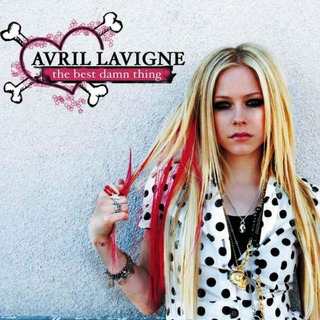 Cd Avril Lavigne The Best Damn Thing Rock New Age Blues