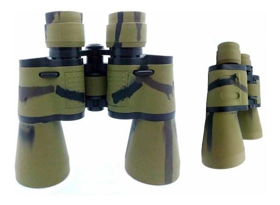Binóculo Profissional Camuflado 20x50 Longo Camping 2051