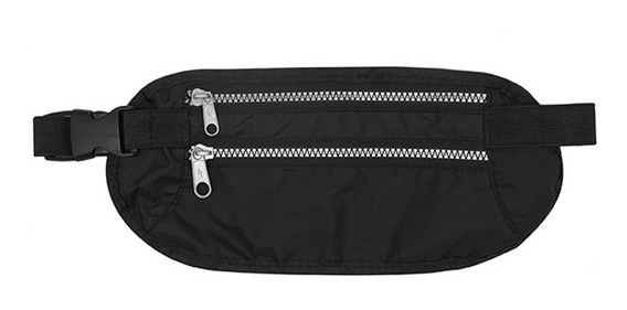 Riñonera Portavalores Waist Bag Fast Travel Anti Robo