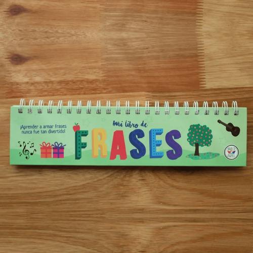 Imagen 1 de 3 de Mi Libro De Frases - Juego Montessori Para Niños - Lakalumba