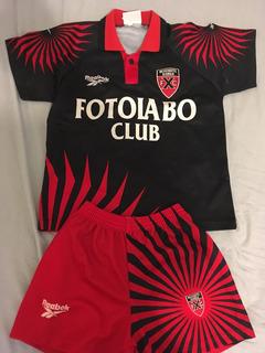 Uniforme Futebol Infantil Neuchatel Xamax (time Suiço)