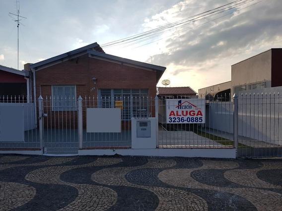 Casa Próximo Ao Taquaral Para Alugar Por R$ 3.000/mês - Jardim Nossa Senhora Auxiliadora - Campinas/sp - Ca0052