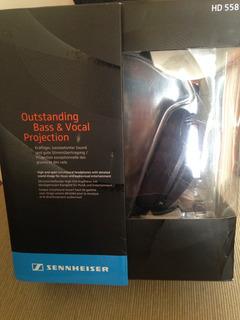 Audifonos Sennheiser Hd 558 - Como Nuevos