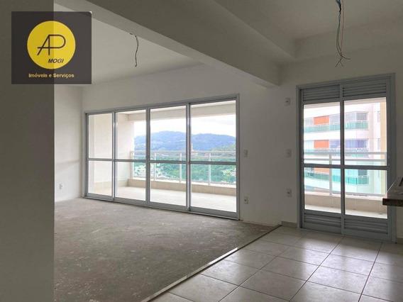 Apartamento Com 3 Dormitórios À Venda, 125 M² - Vila Mogilar - Mogi Das Cruzes/sp - Ap0246