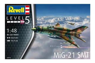 Mig 21 Smt Escala 1/48 Revell 03915