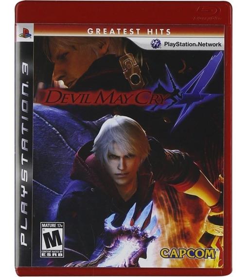 Devil May Cry 4 - Mídia Física - Ps3 - Usado