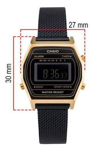 Relógio Casio Vintage Preto La690wemb-1bdf
