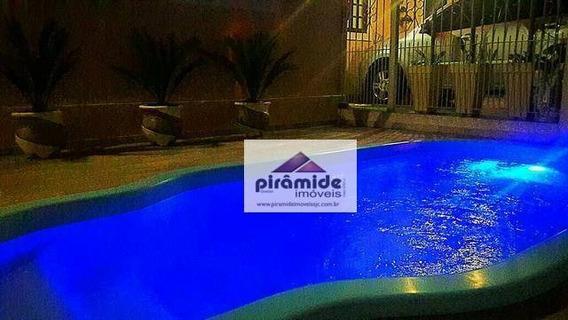 Casa Com 4 Dormitórios À Venda, 185 M² Por R$ 660.000,00 - Urbanova - São José Dos Campos/sp - Ca2906