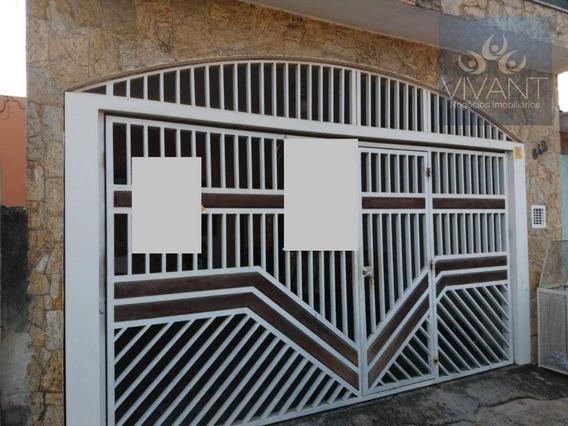 Sobrado Com 3 Dormitórios À Venda, 210 M² Por R$ 470.000,00 - Cidade Edson - Suzano/sp - So0161