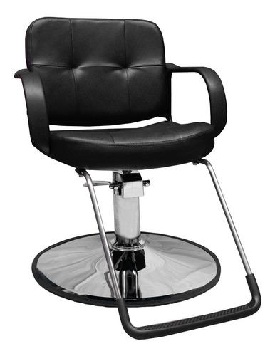 Imagen 1 de 9 de Silla Sillon Barbero Estetica Hidraulico Salon Barberia