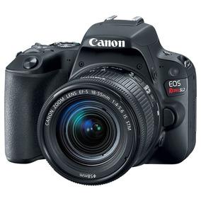 Câmera Canon Eos Sl2 Com Kit 18-55mm Lacrada Rev Autor