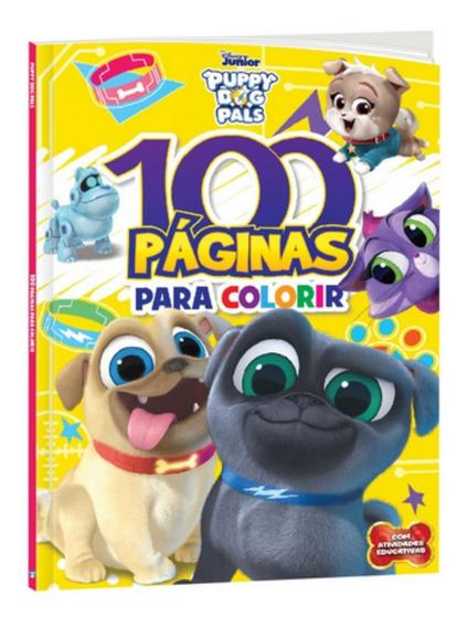 100 Páginas Para Colorir - Bingo E Rolly