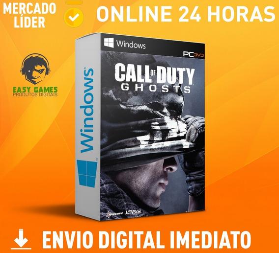 Call Of Duty Ghosts - Pc + Dublagem Envio 0s