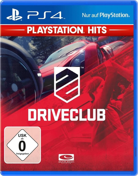 Drive Club Ps4 Psn Digital Envio 10 Minutos! Original