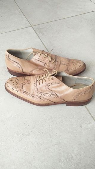 Zapatos De Cuero De Hombre N°42