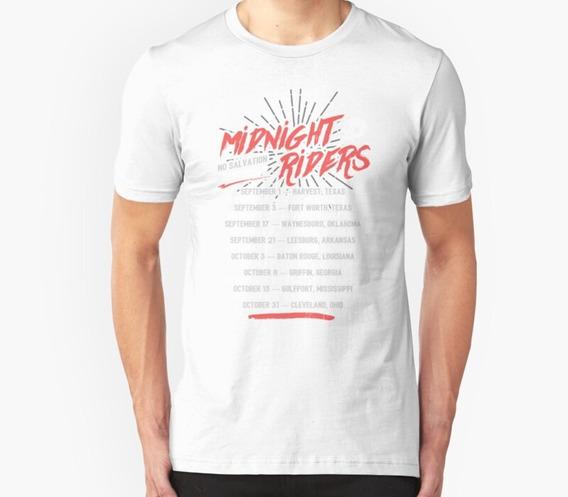 Remera Midnight Riders No Hay Recorrido De Salvación