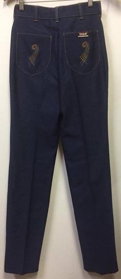 Belíssima Calça Jeans Vintage Anos 70 Imave Tamanho Pp