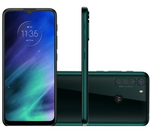 Imagem 1 de 4 de Celular Motorola 6,5 Xt2073-2 Moto One Fusion Dual Chip 4gb