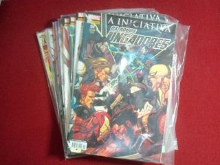 Novos Vingadores 51 A 60 (editora Panini - 2008/2009)