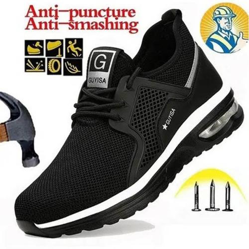 Imagen 1 de 10 de Zapatos De Seguridad De Fibra De Kevlar De Acero Ligero
