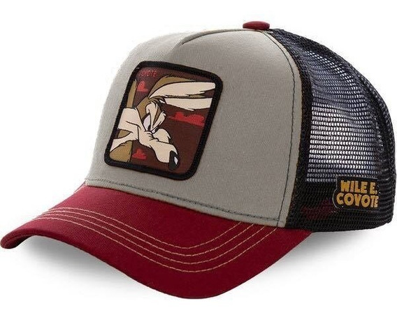 Gorra Estilo Collabs Wile E. Coyote
