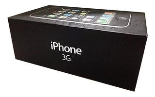 Caja Vacia Para iPhone 3g 8gb (no Incluye Celular)