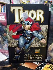 Marvel De Luxe Thor O Renascer Dos Deuses Panini Comics