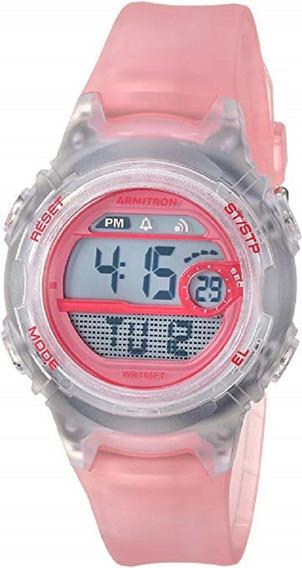 Armitron Sport 45/7088tpk - Reloj De Pulsera Para Mujer