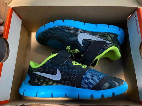 Tênis Nike Free 5 (tdv) Infantil Menino 26br Original Usado