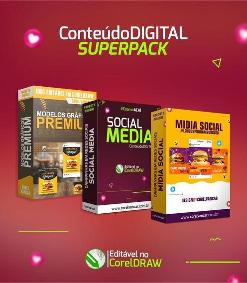 Pack 3 Em 1 Social Media (para Campanhas Sociais)