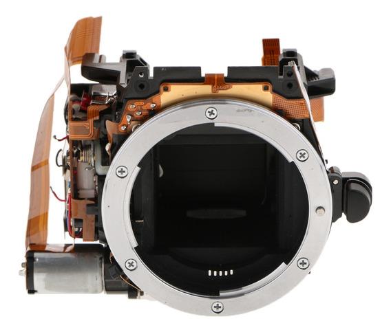 Unidade De Caixa De Espelho Com Abertura, Obturador Para Câm