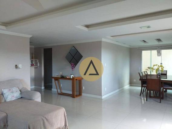 Casa Com 4 Dormitórios À Venda, 300 M² Por R$ 1.900.000,00 - Glória - Macaé/rj - Ca1141