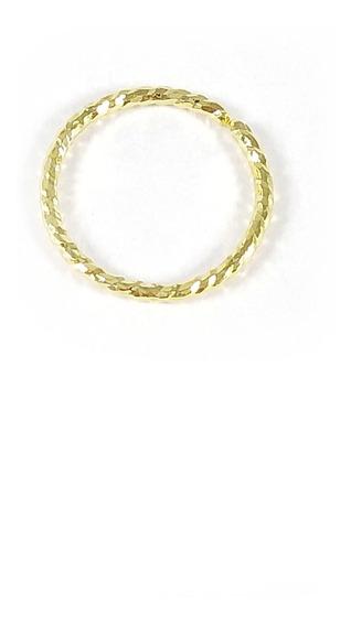 Piercing Orelha Argola Para Helix Ou Conch Folheado A Ouro