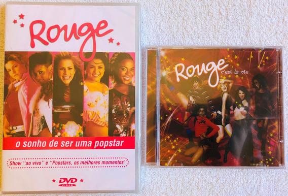 Kit Dvd + Cd Rouge O Sonho De Ser Uma Popstar C