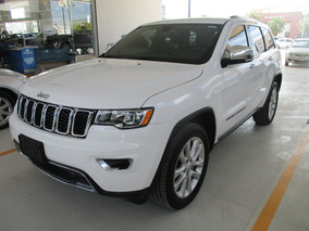 Jeep Grand Cherokee Limited 4x2, 6 Cil, Color Blanco, 2017
